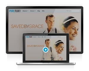 Pure Flix is Available Through Your Web Browser - Laptops and Computers