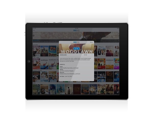 Pure Flix is Available on Apple iPad