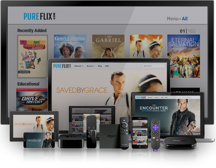 PureFlix.com Supported Devices